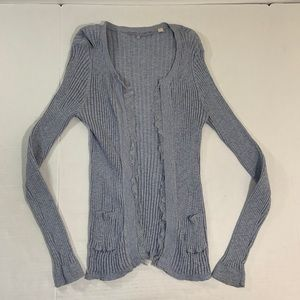 Anthropologie Knitted And Knotted Cardigan BOHO M